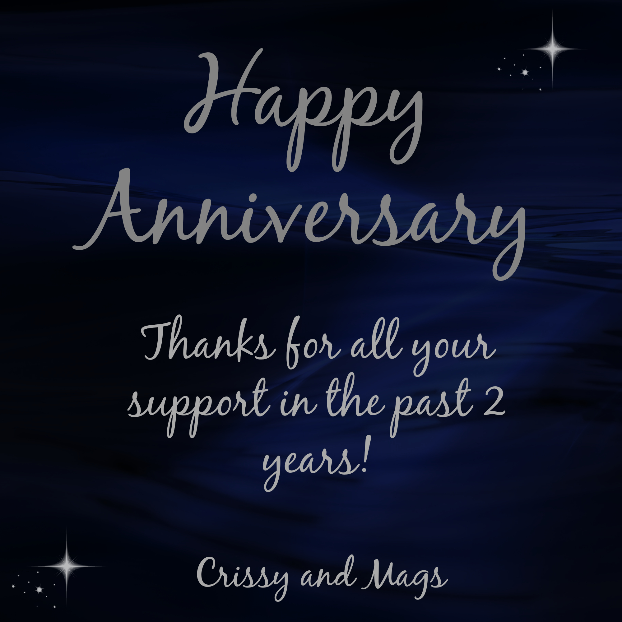 laters baby happy 2nd anniversary